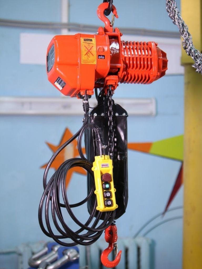 Тельфер электрический: назнчение, устройство, классификация