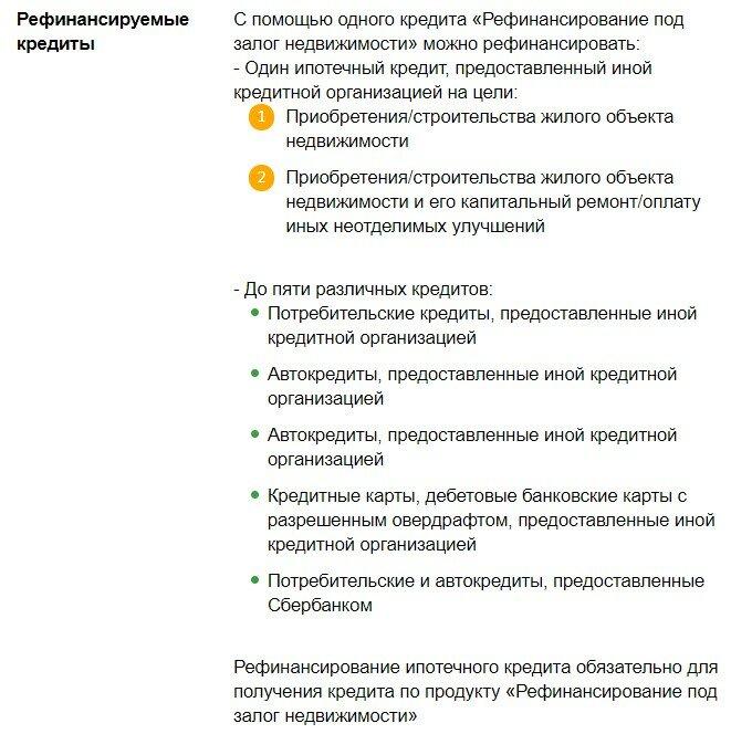 Рефинансирование кредита в сбербанке россии: условия перекредитования для физических лиц во владивостоке, ставки, онлайн расчет