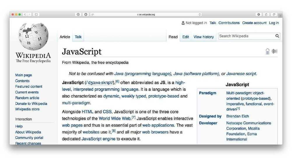 Типизация википедия