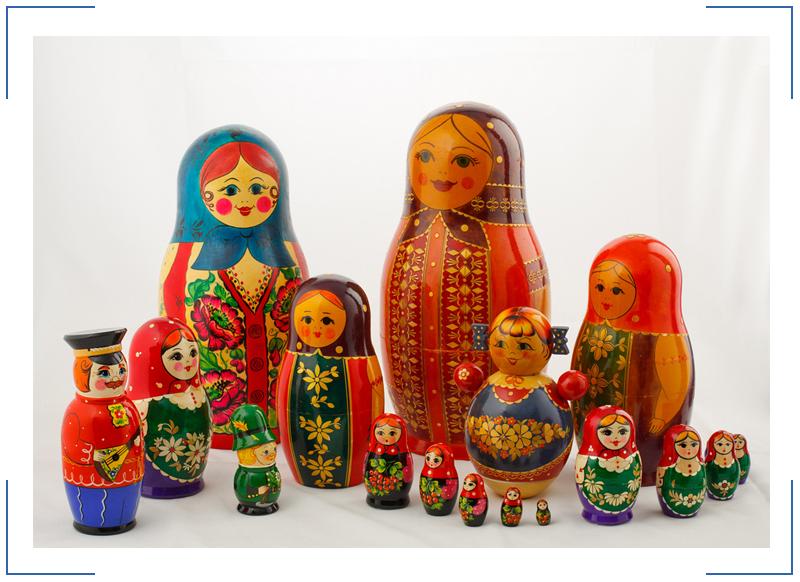История появления русской матрешки