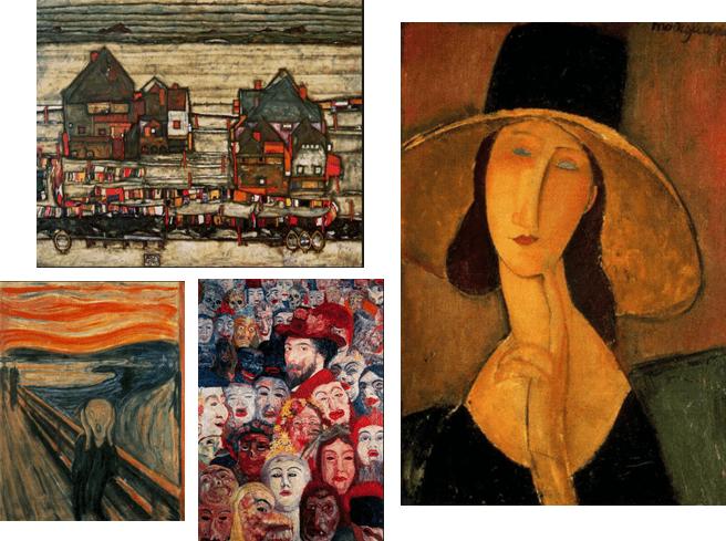 Топ-5 самых знаменитых художников-экспрессионистов: макс бекман, эдвард мунк, эрнст людвиг кирхнер, эгон шиле, василий кандинский