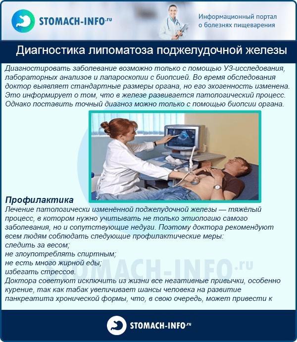 Липоматоз поджелудочной железы: причины, симптомы и лечение | s-voi.ru