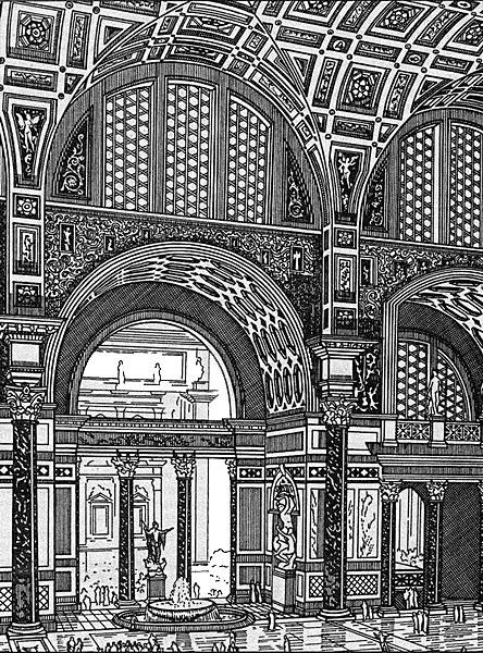 Римские термы: история возникновения и строительства