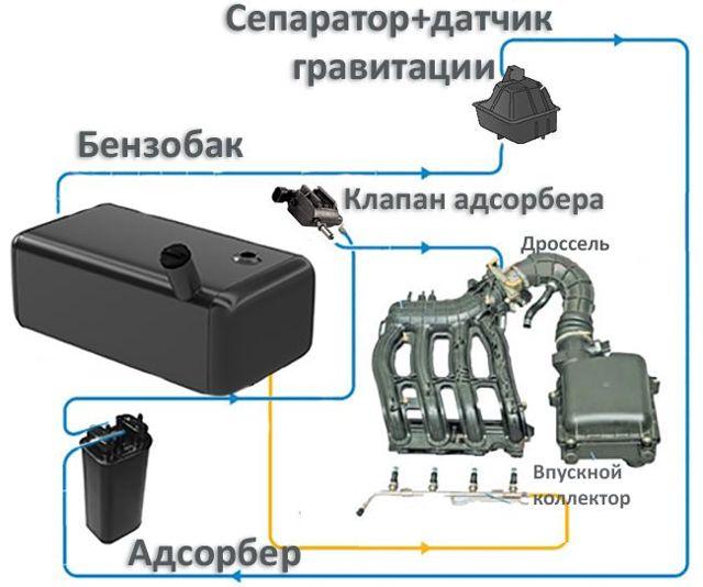Адсорбер: что это такое в машине, устройство и принцип работы