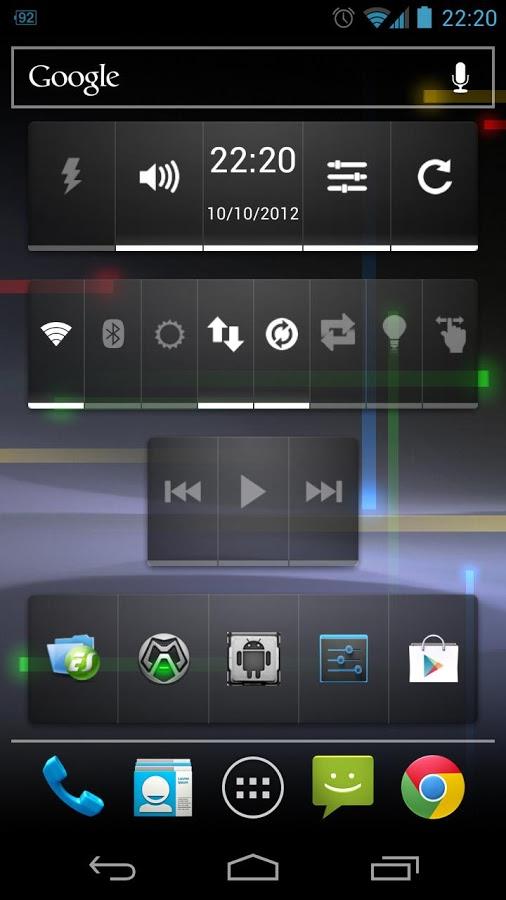 Как добавить виджет на экран андроид
