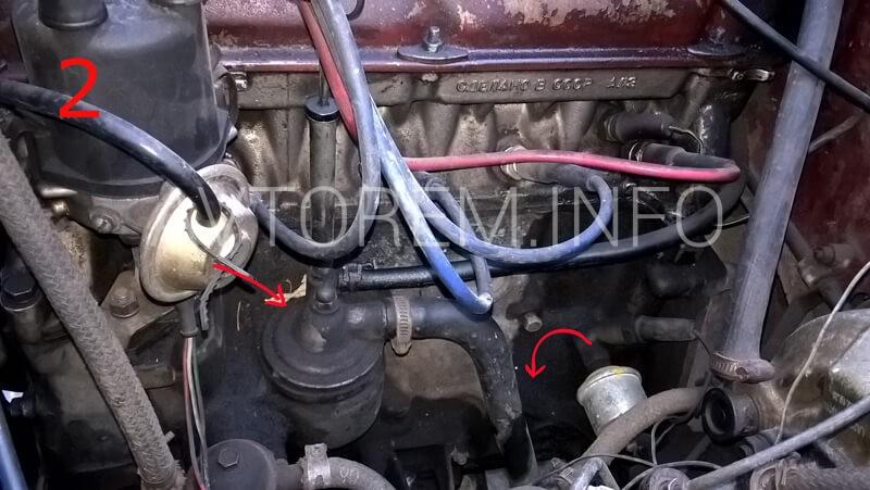 Сапун двигателя что это такое