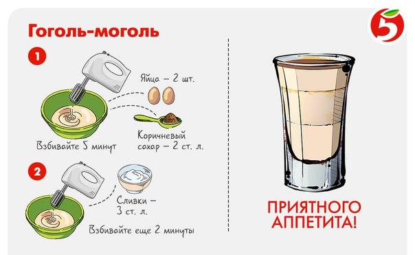 """Гоголь-моголь """"айболит"""" – кулинарный рецепт"""