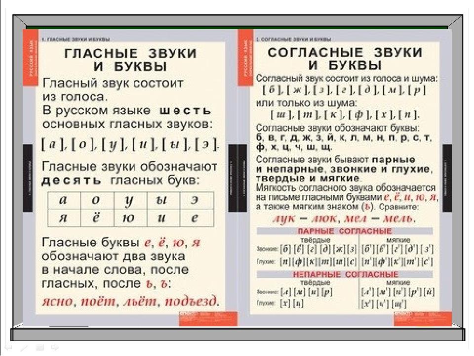 Урок 7: отличие звуков от букв - 100urokov.ru