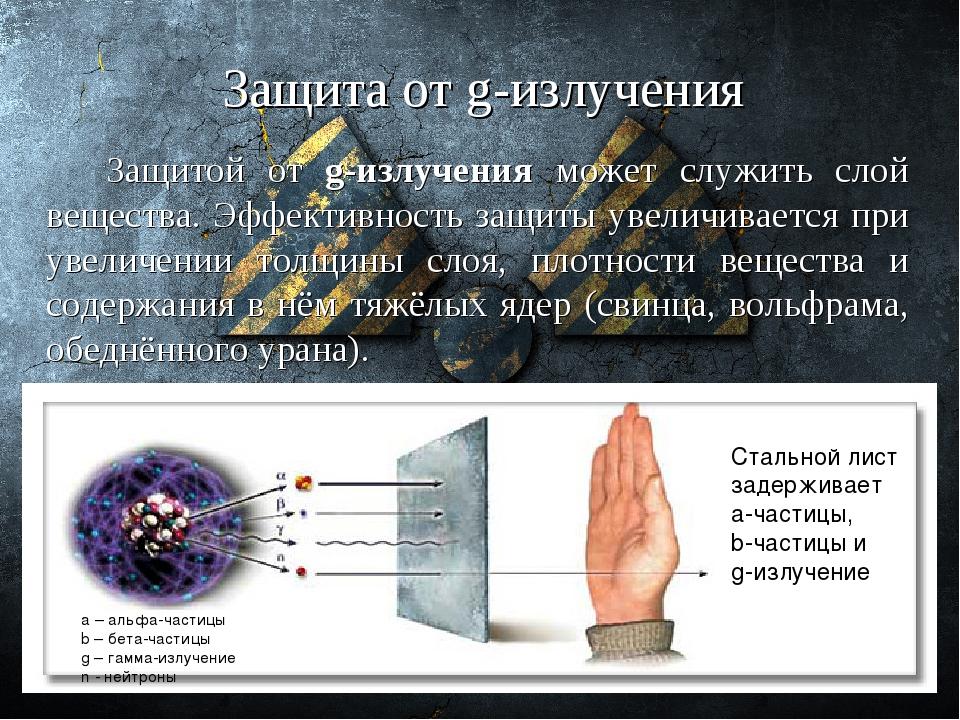 Гамма лучи: сферы применения, вред от излучения