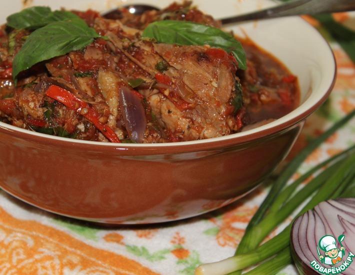 Чахохбили из курицы (или говядины) – кулинарный рецепт