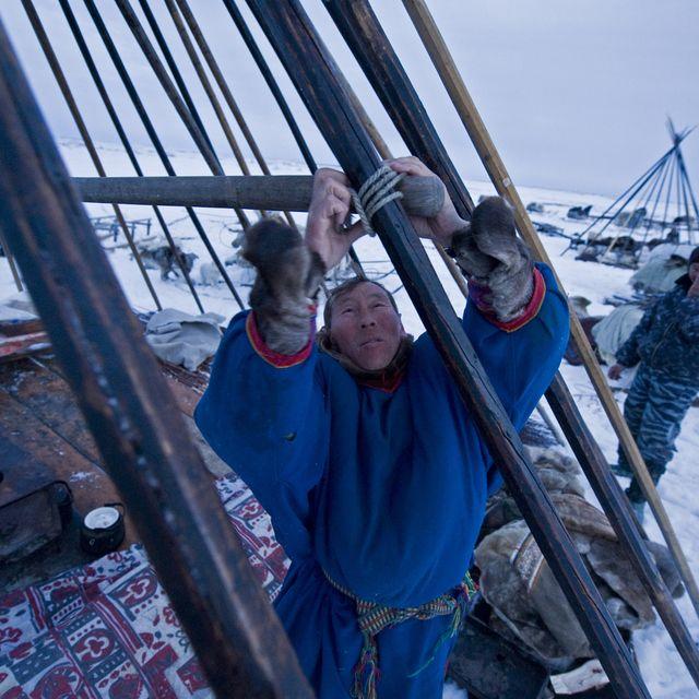 Традиционные жилища северных народов - статьи - в мире - homemania