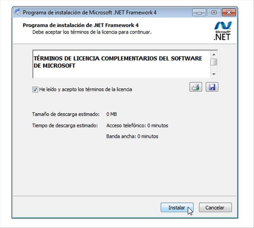 Документация по .net