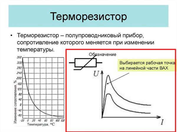 Термистор – характеристика и принцип действия - zetsila