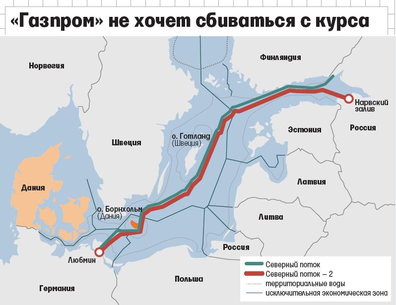 """Немецкие газовики не верят в успех проекта """"северный поток-2"""""""