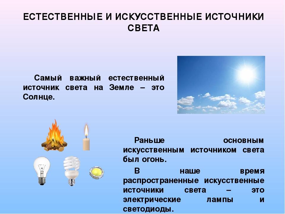 Источник света — википедия. что такое источник света