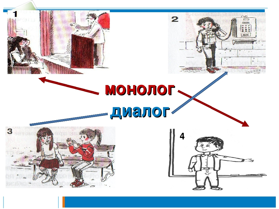 Что такое диалог и монолог в русском языке