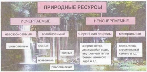 Что такое природные ресурсы