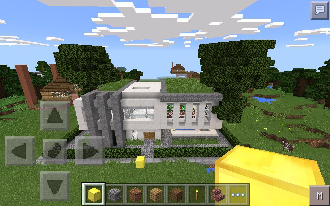 дома для майнкрафт 0.14.1 #1