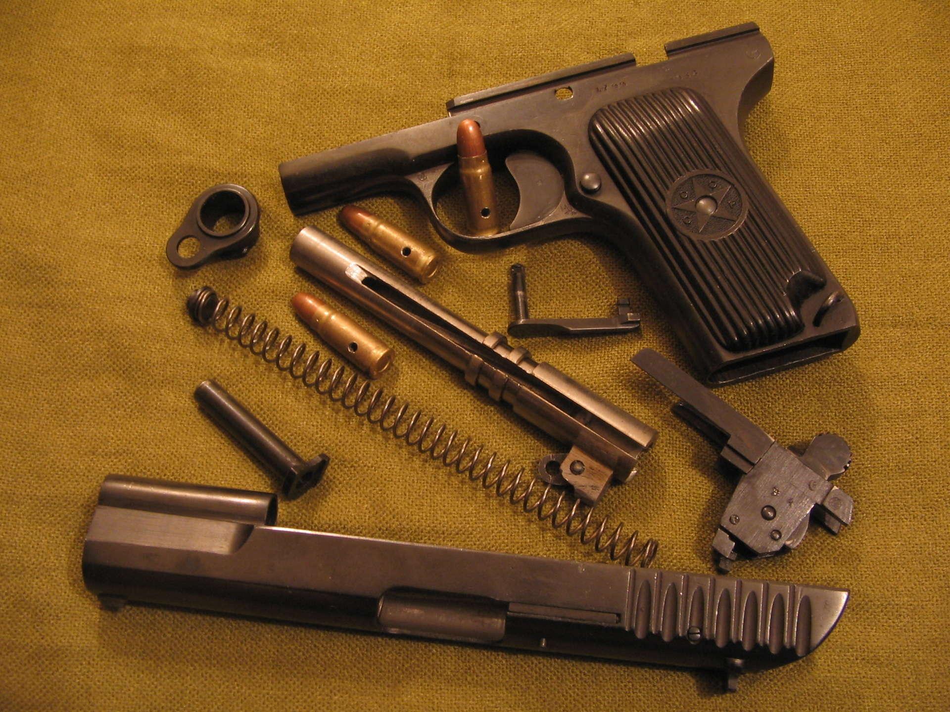 Пистолет тт боевой - технические характеристики, калибр, фото тульского токарева