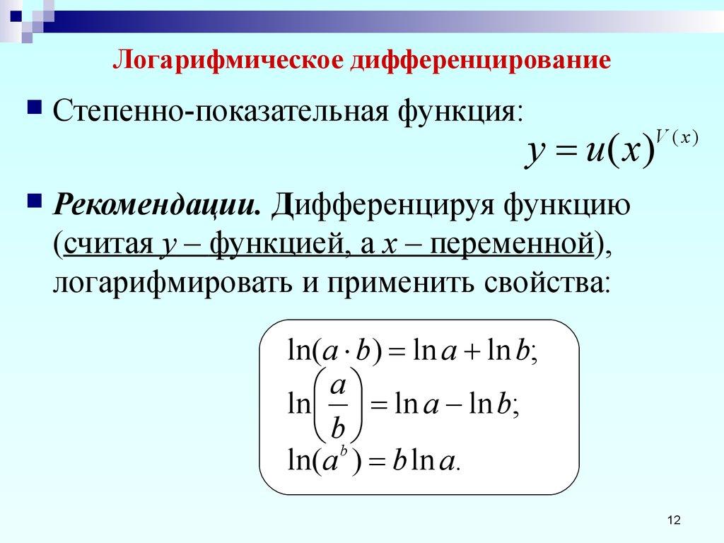Что такое логарифм. как посчитать логарифм. свойства логарифмов. примеры решения логарифмов