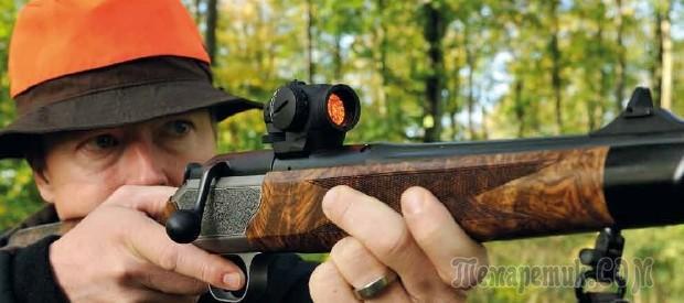Коллиматорный прицел для гладкоствольного оружия 12 калибра: описание устройства, виды, пристрелка, выбор дистанции, фото - truehunter.ru