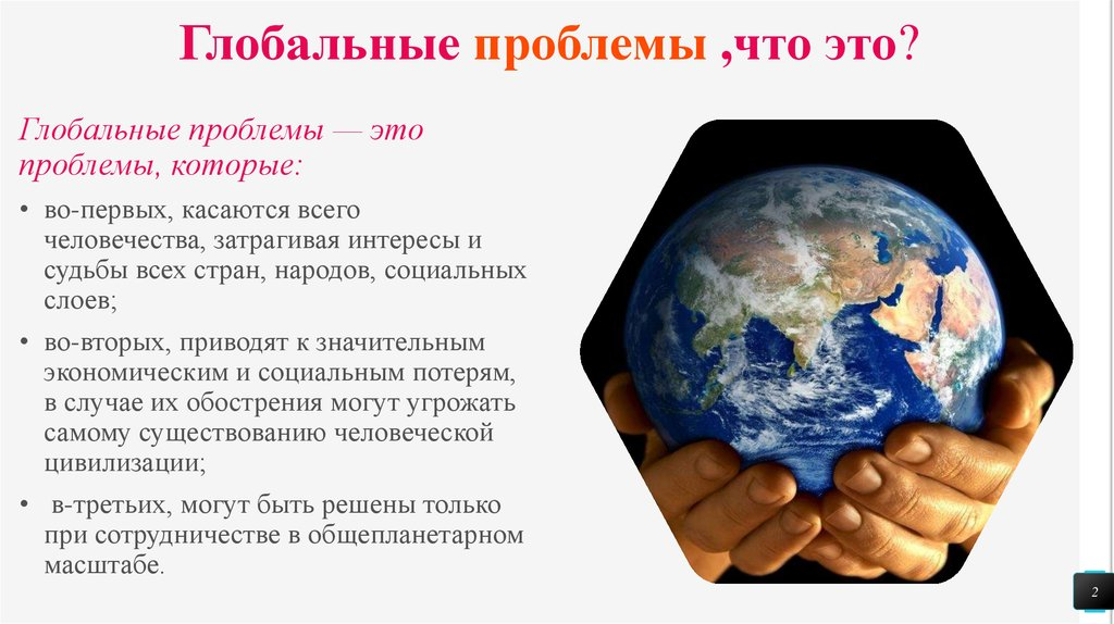 Глобальные проблемы современности | lampa - платформа для публикации учебных материалов