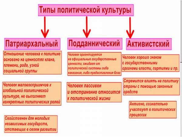 Политическая культура – типы, функции, критерии и основы низкой культуры