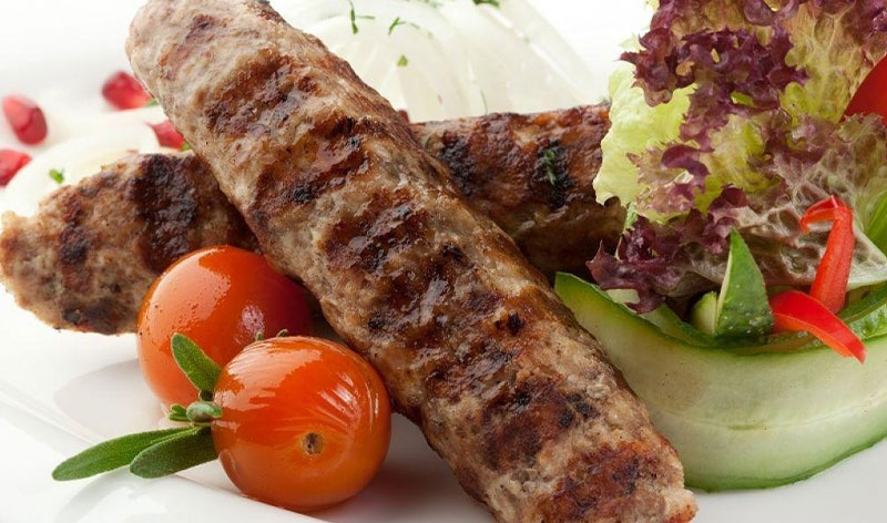 Кебаб по необычному рецепту от жоржа.