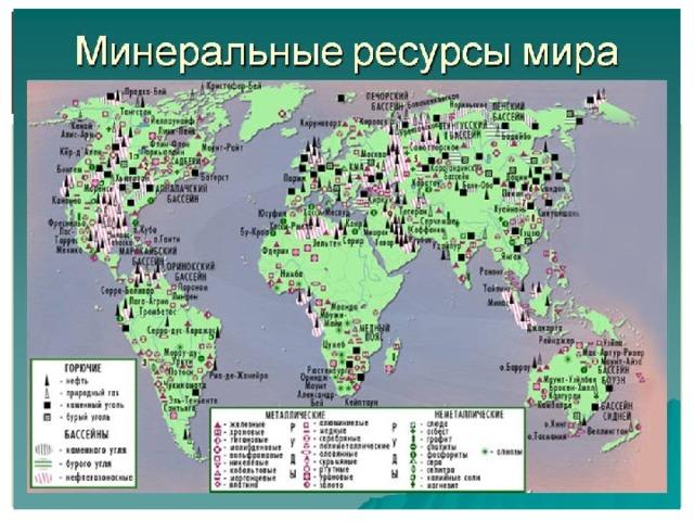Минеральное сырье: виды, добыча, переработка, анализ,  использование, страны-экспортеры