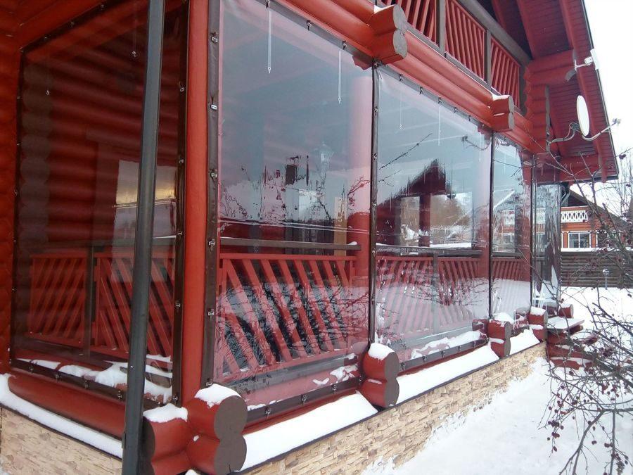 Мягкие окна: мягкое стекло для беседок, террас, и других конструкций