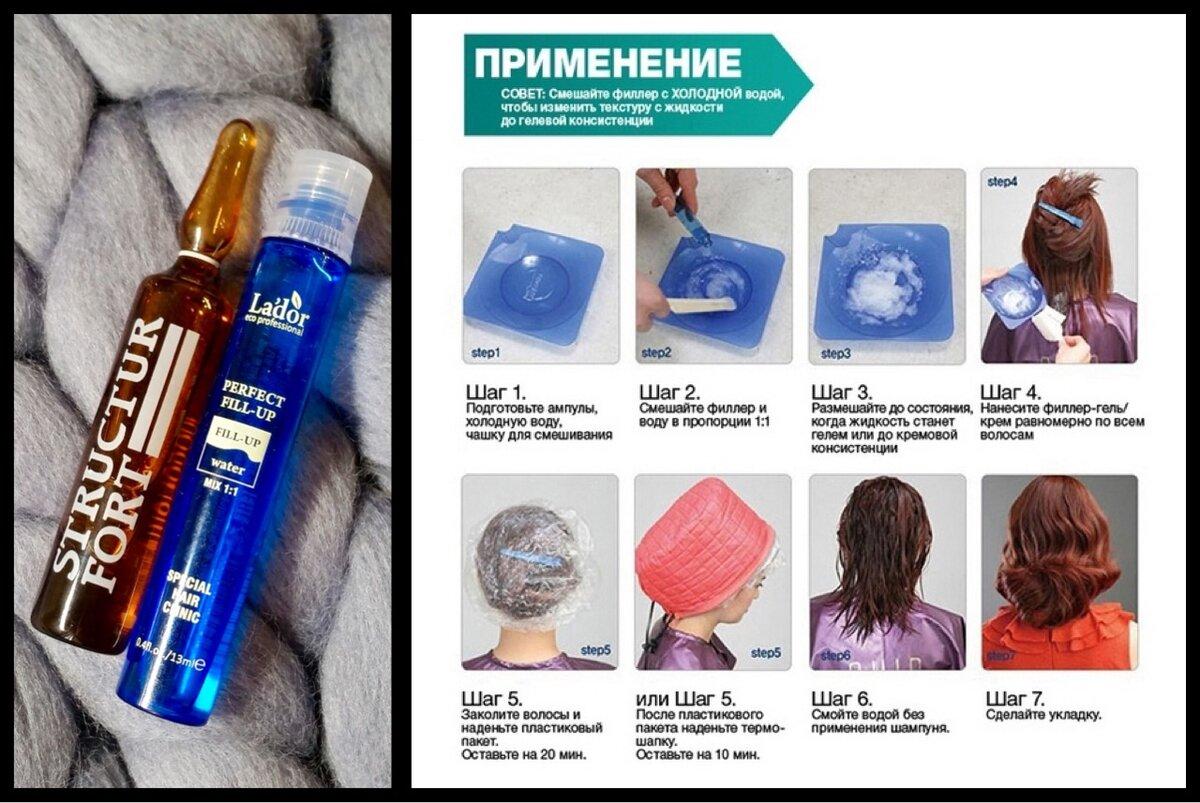 Филлер для волос - инструкция по использованию в домашних условиях, показания и лучшие продукты брендов