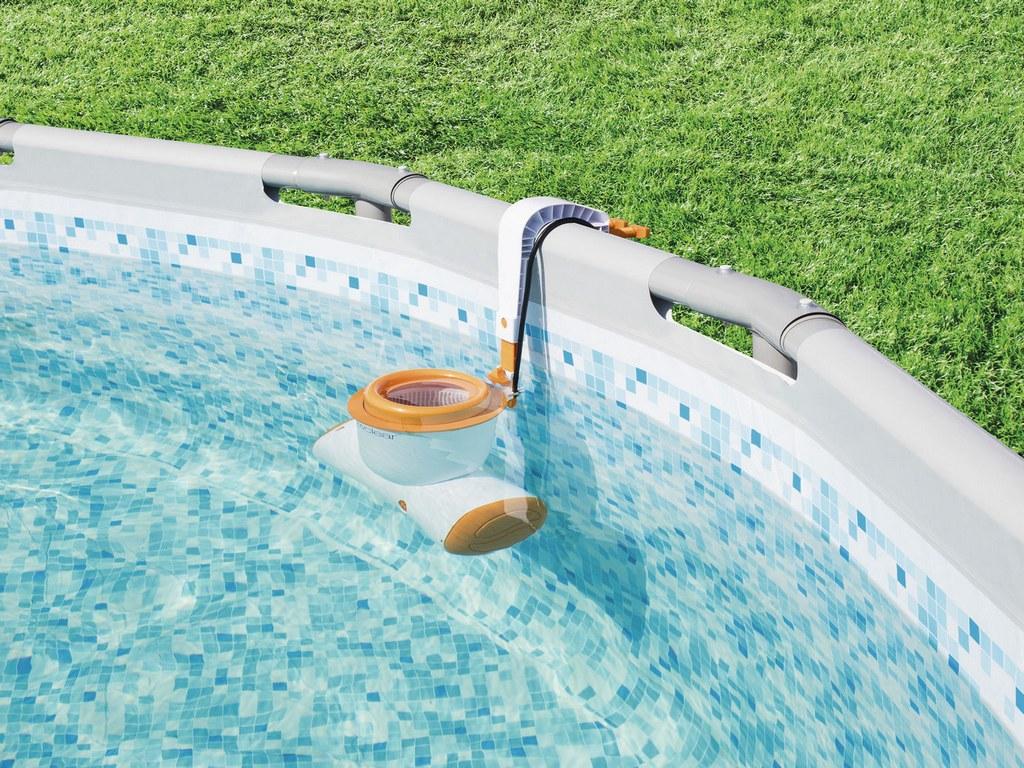 Скиммер для бетонного бассейна: что это такое и как установить навесной скиммер в бассейн своими руками