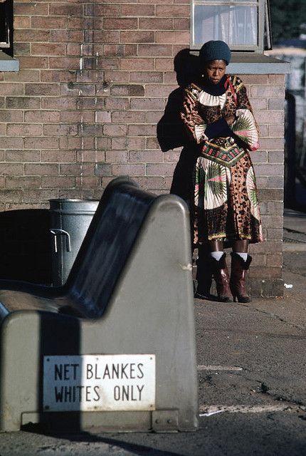 Апартеид в юар: темнокожим и цветным здесь не место