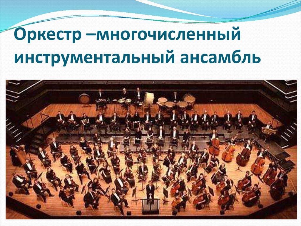 Симфонический оркестр — циклопедия