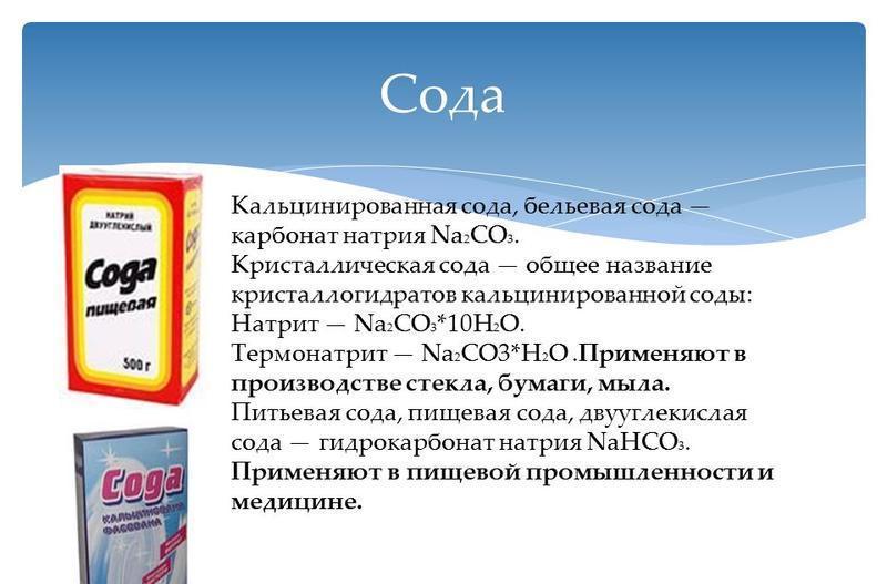 Что такое очищенная сода — подойдет ли медицинская из аптеки?