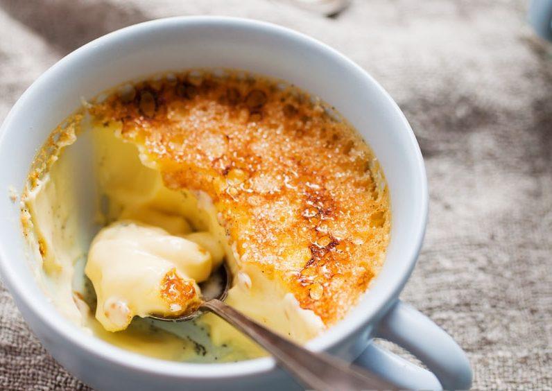 Крем брюле – кулинарный рецепт