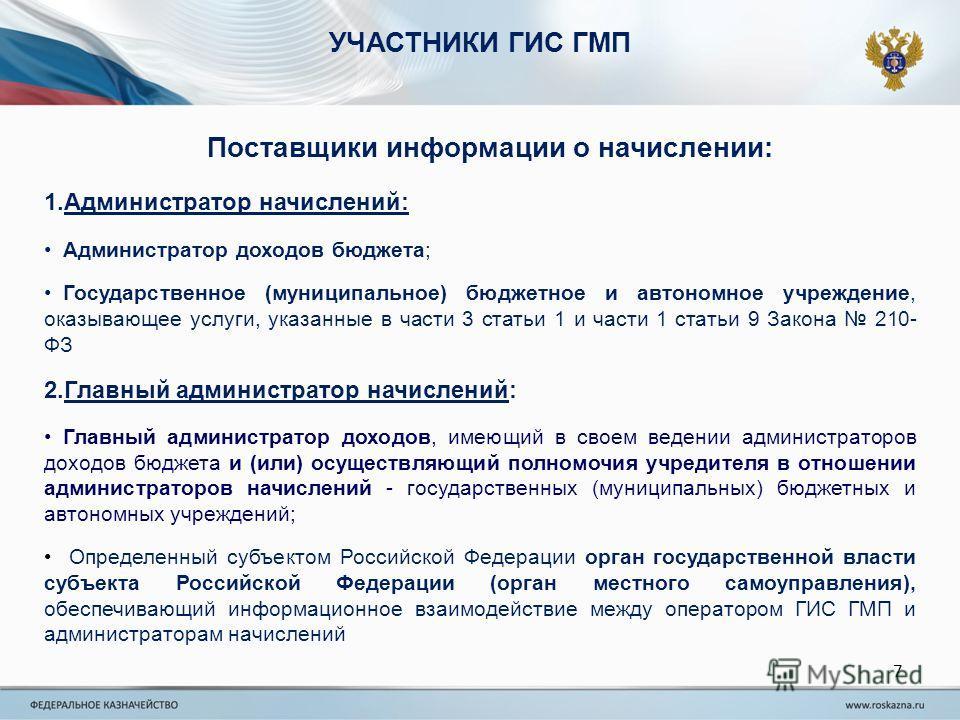 Государственные информационные системы