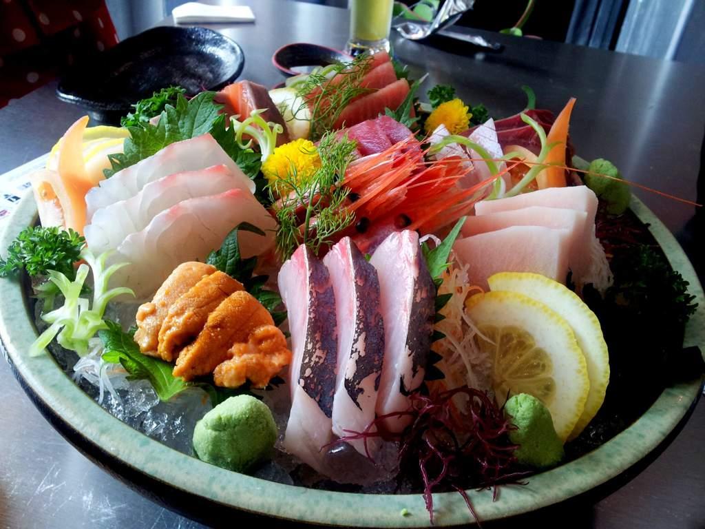 Разница между суши и сашими - разница между - 2020