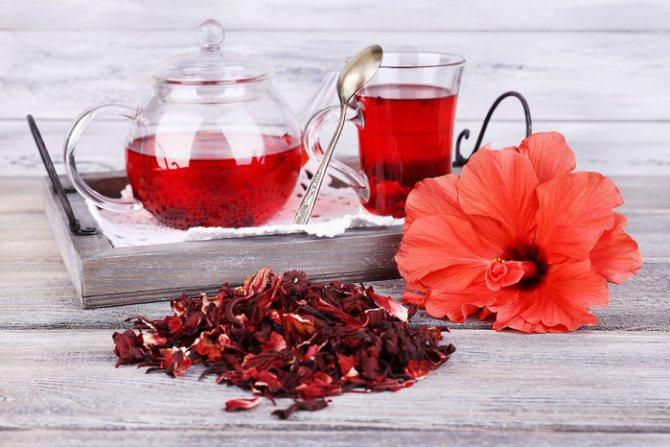 Чай каркаде: польза напитка, способы приготовления и противопоказания