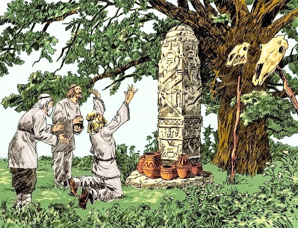 Древние капища славян: понятие языческого святилища, история возникновения, культура и быт