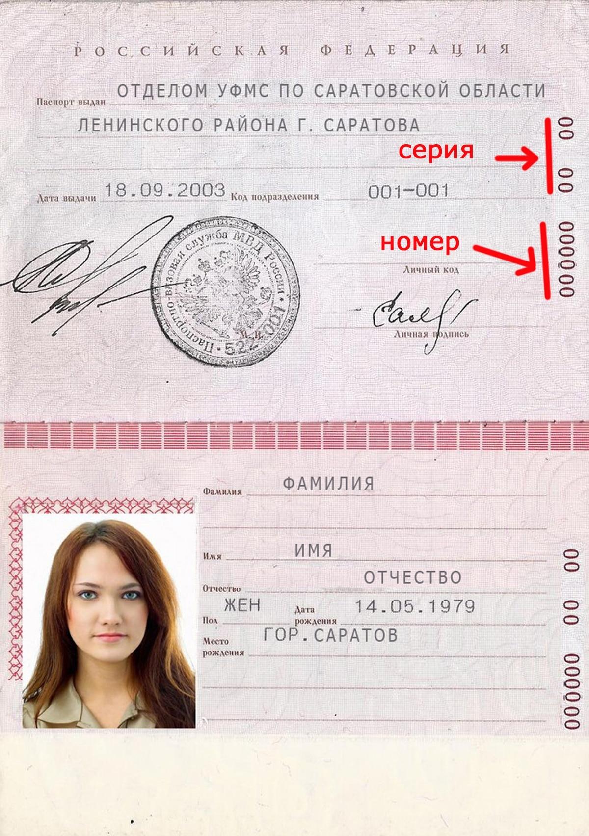 Что такое фотография разворота паспорта?
