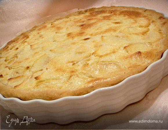 Шарлотка с яблоками в духовке: классические рецепты