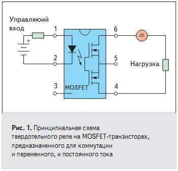 Твердотельное реле - принцип работы и схемы подключения -  сайт об электрике
