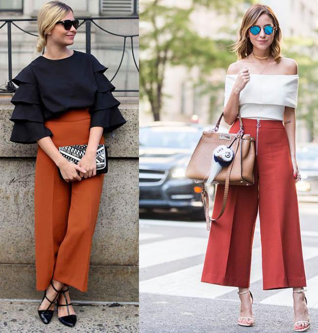 Широкие брюки кюлоты 2020 (116 фото): что это такое, кому идут и с чем носить женские модные кюлоты
