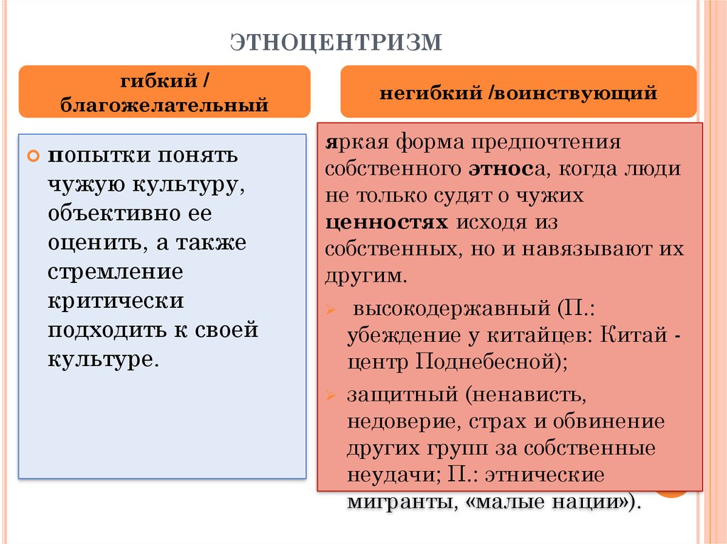 Этноцентризм