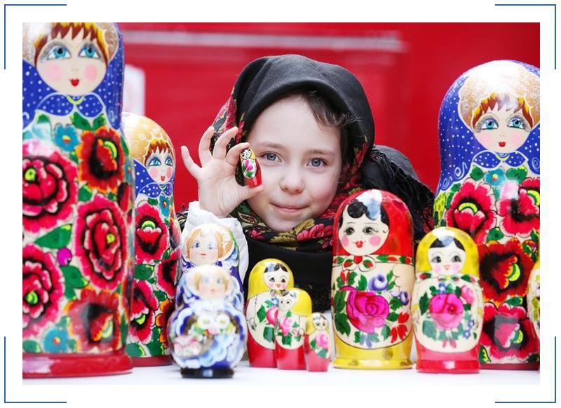 Russian matrioshka русская матрешка ladanika для мужчин и женщин