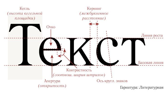 Практический взгляд на базовые термины и анатомию шрифтов | by alexandra kulikovskaya | designspot | medium