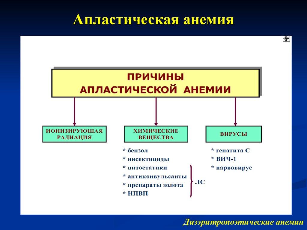 Апластическая анемия | орфанные заболевания