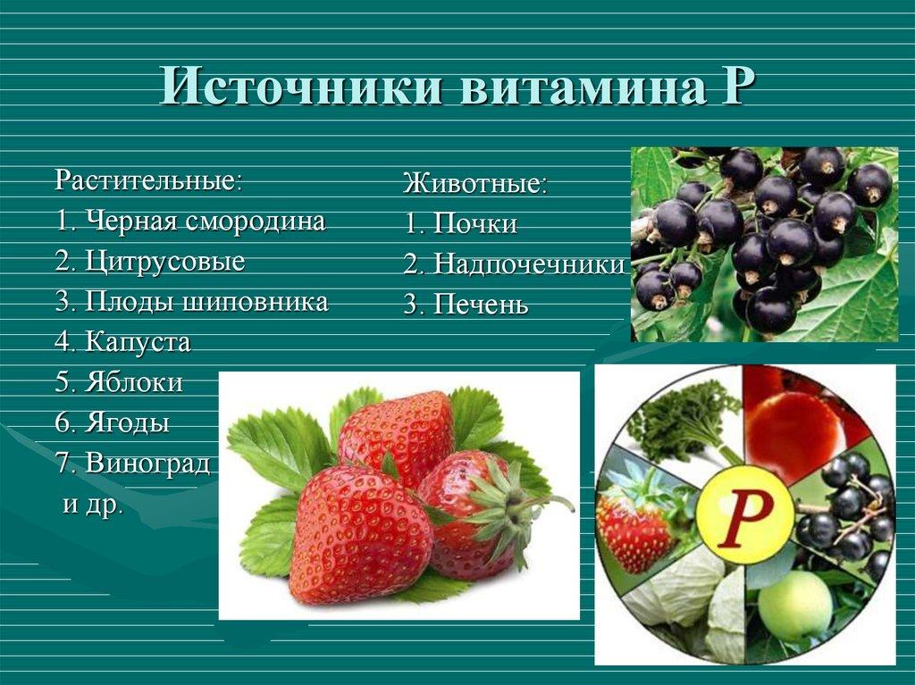 Рутин (витамин p), для чего нужен организму, в каких продуктах содержится