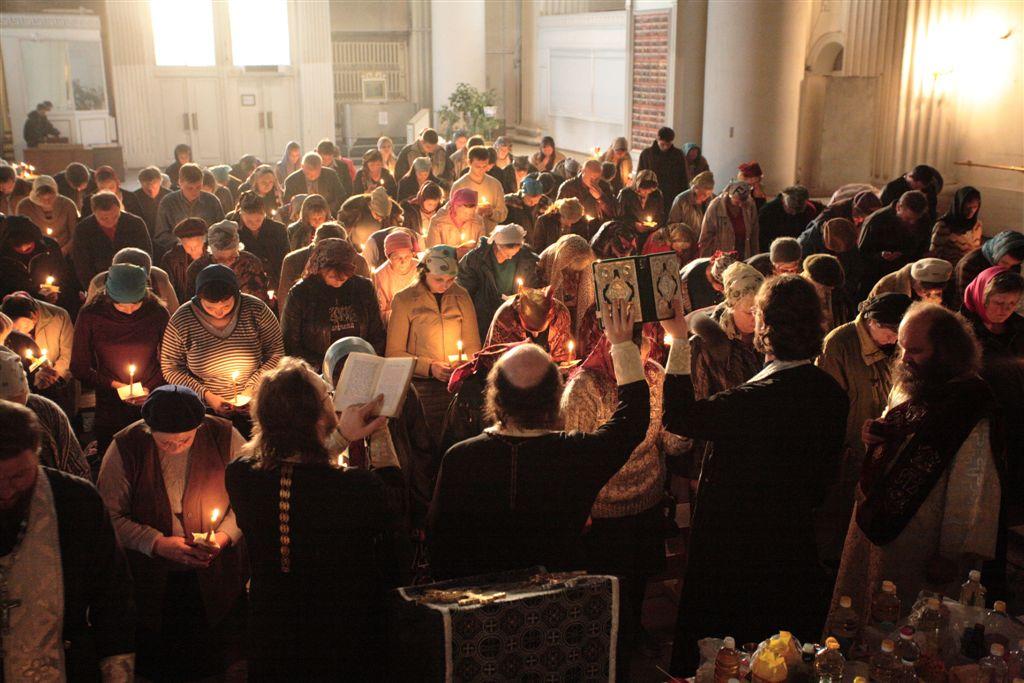 Соборование. таинство больных и здоровых